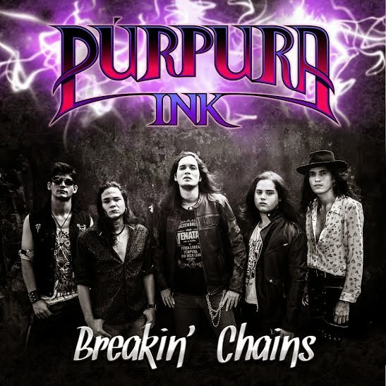 Purpura Ink - Breakin' Chains FRONT